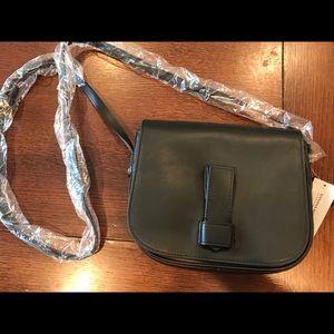 Banana Republic leather crossbody bag